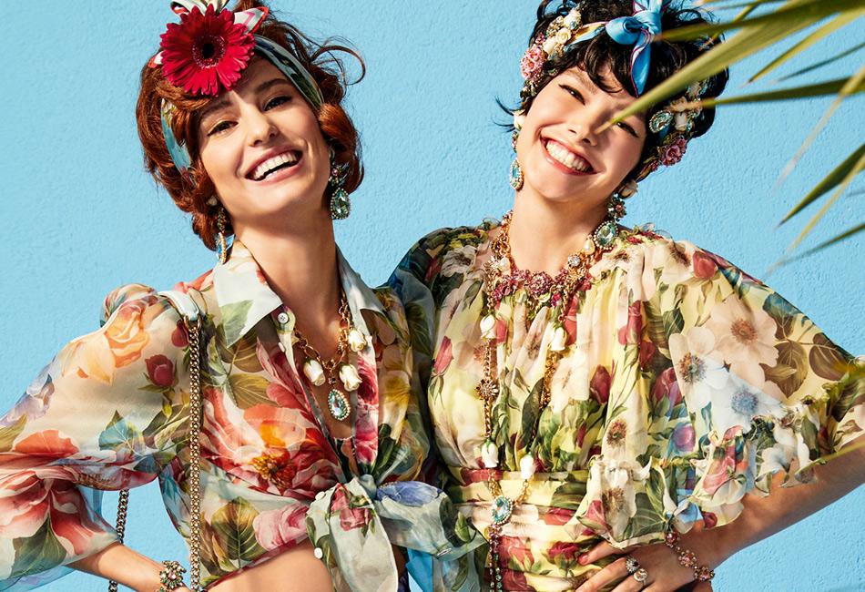 Летняя мода из коллекции Dolce and Gabbana