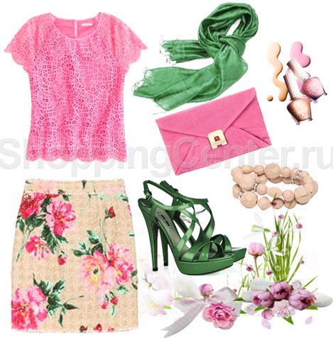 Одежда в романтическом стиле