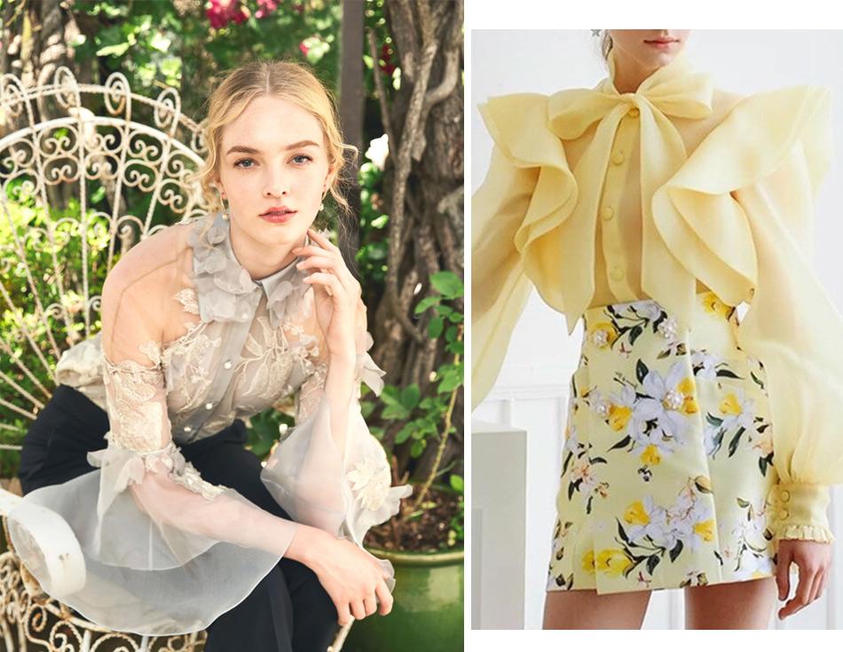 Летняя мода: блузки