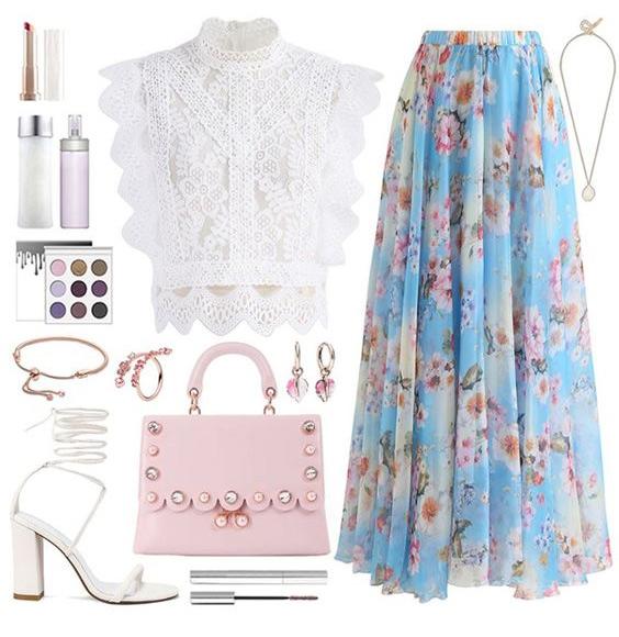 Романтический стиль: одежда и аксессуары