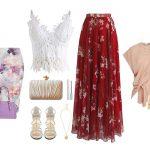 Стильные идеи, с чем носить юбку летом