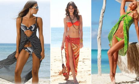 29 способов, как красиво завязывать парео для пляжа