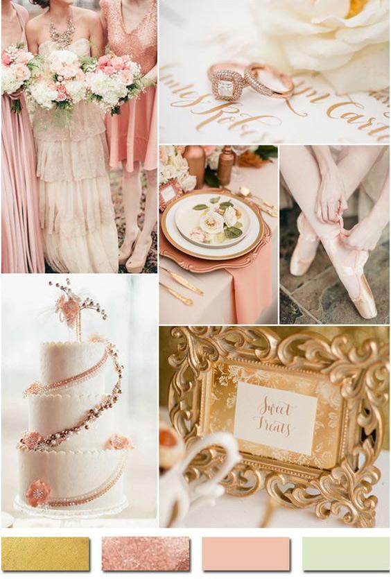 Модные цвета свадьбы
