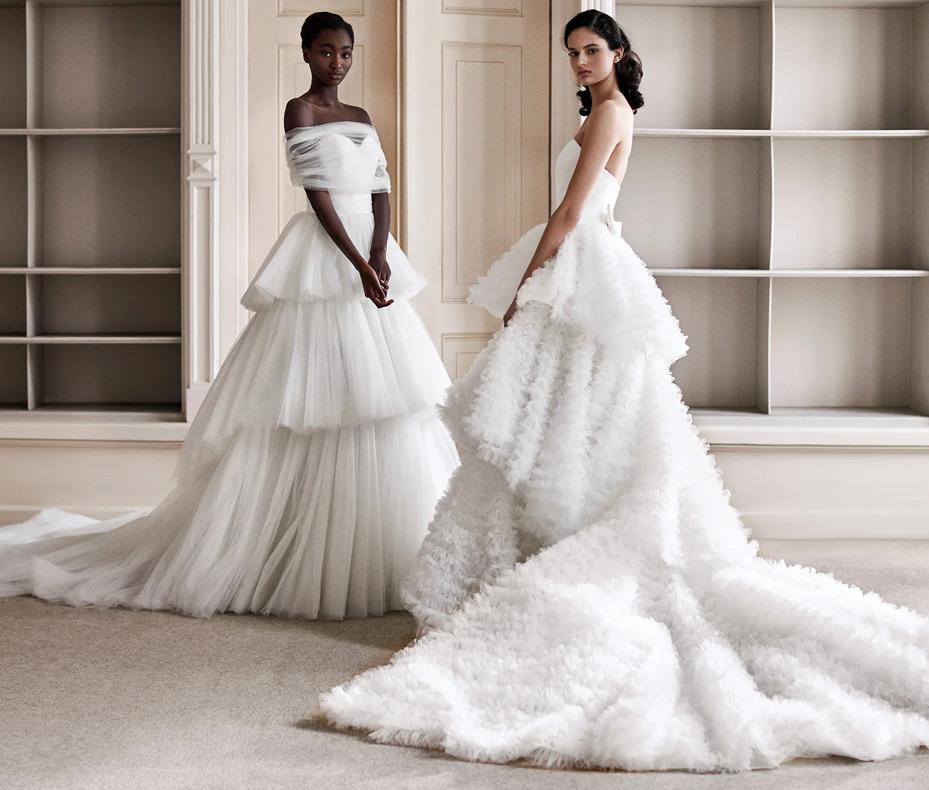Свадебные платья из коллекции Viktor & Rolf