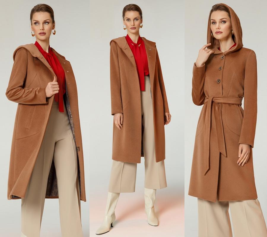 Женское пальто на осень, номер в каталоге КМ702 Ven