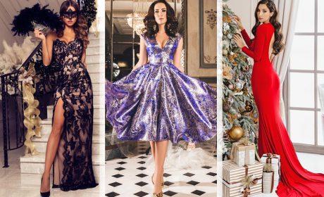 Новогодние платья: тенденции, 25 фото