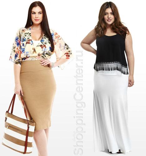 Одежда для полных: короткое носим с длинным!