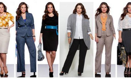 Как правильно подобрать одежду полным женщинам