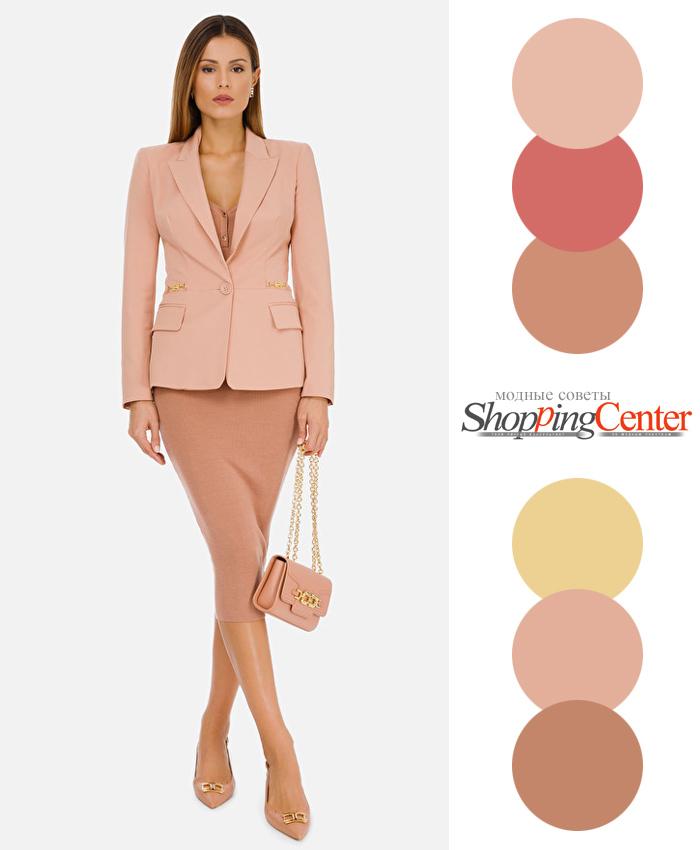 Модные весенние цвета в одежде