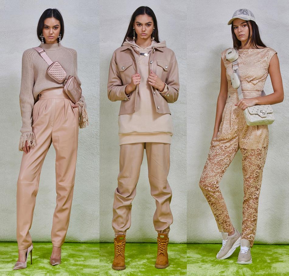 Бежевые оттенки из модной коллекции Philipp Plein