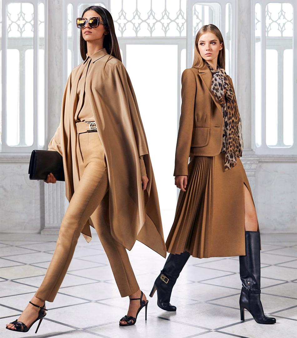 Модный деловой стиль одежды для женщин, фото из модной коллекции Elie Saab