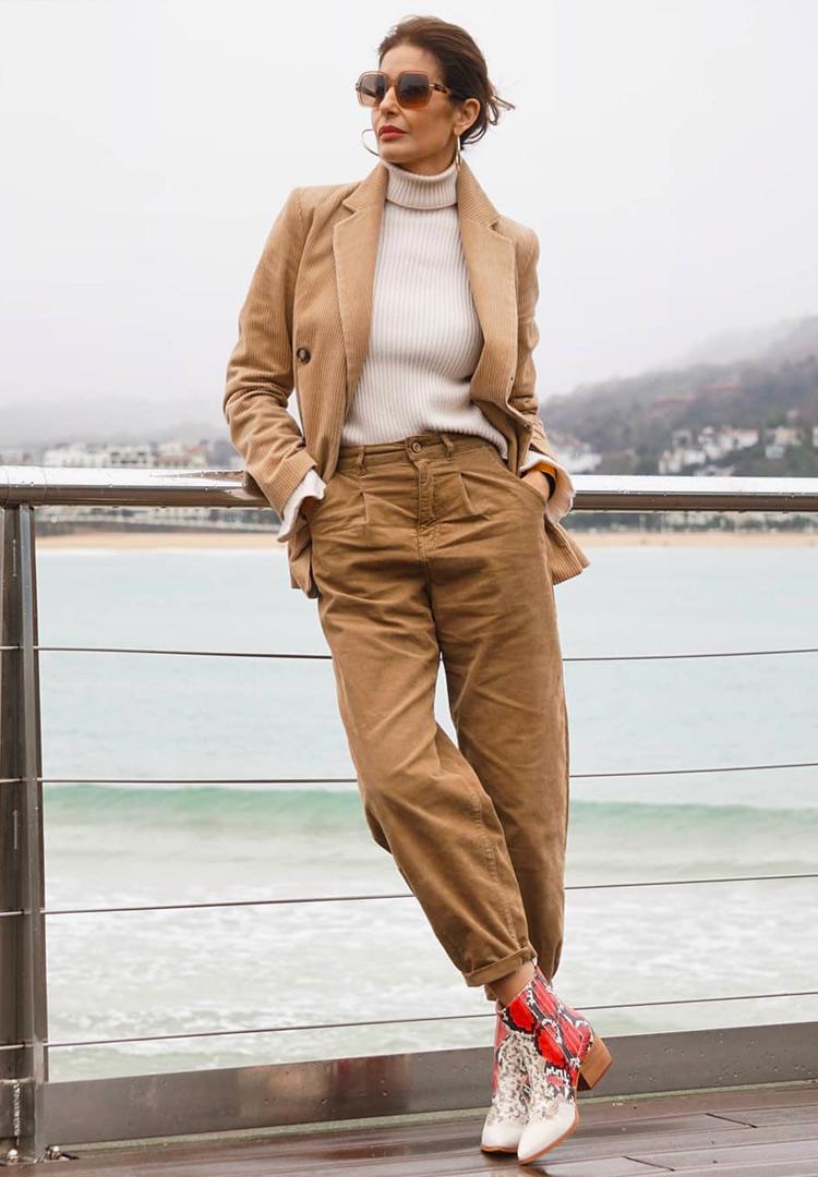 Весенняя мода для женщин после 40 лет