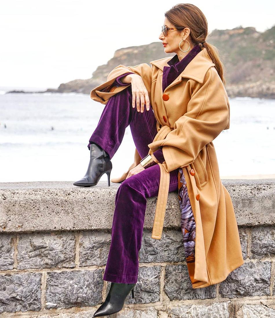 Весенний модный образ для женщины 40 лет