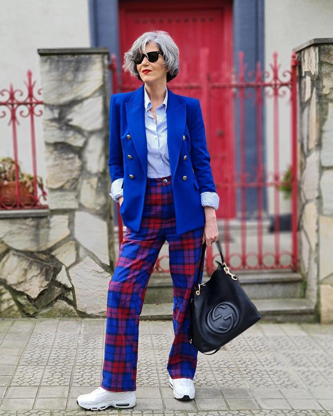 Фото, как одеваться стильно женщине за 60