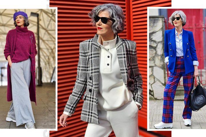 12 фото, как одеваться женщине после 60 лет стильно и модно