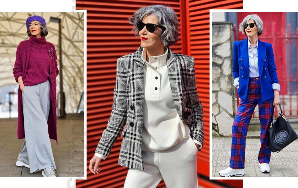 Советы и фото, как одеваться женщине после 60 лет стильно и модно