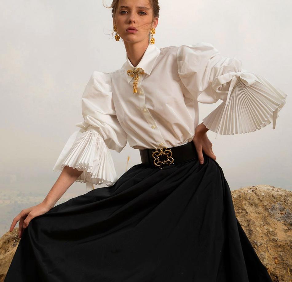 Модная одежда из коллекции Elie Saab